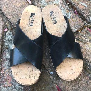 Korks by Kork-Ease Leather Sandals